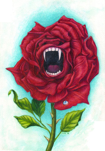 Rose with Bite