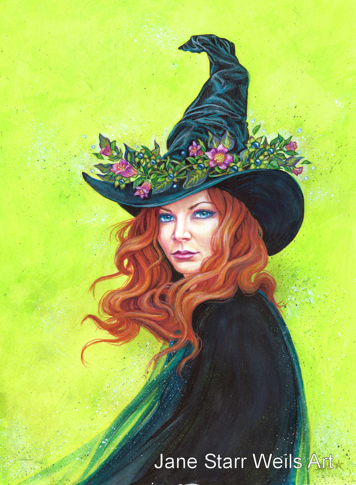 Belladonna on a Pretty Witches Hat