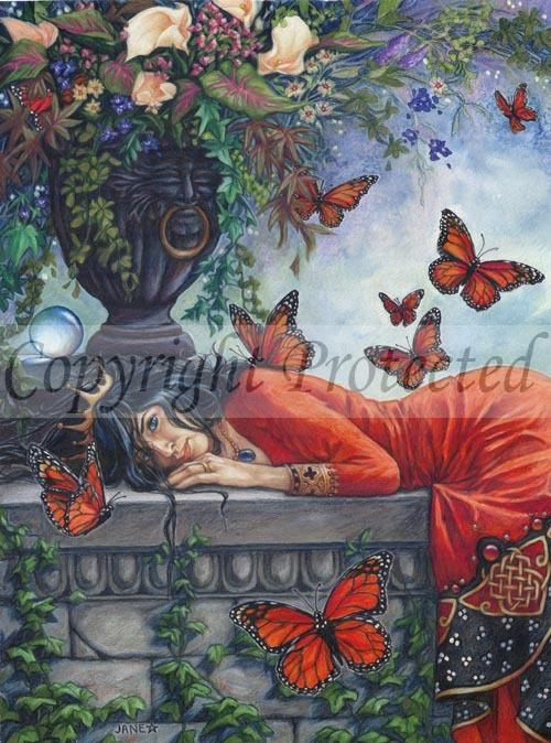 Monarch Butterfly Queen