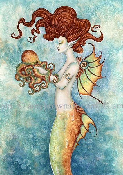 Mermaid and Octopus
