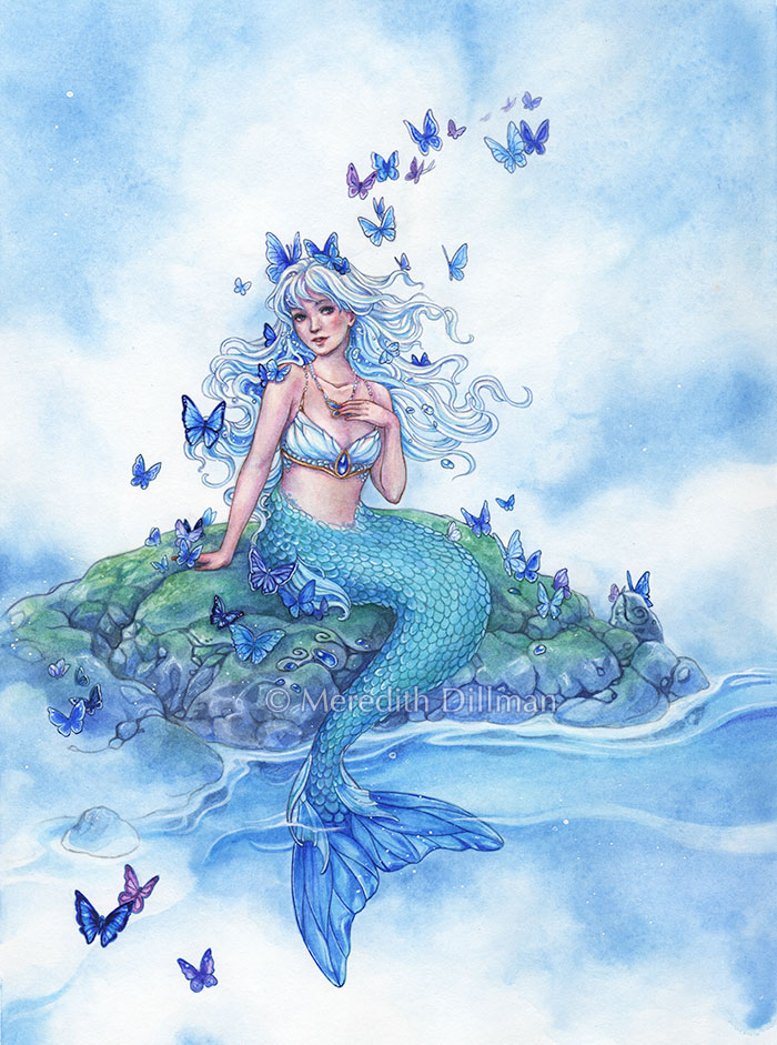 Butterfly Mermaid