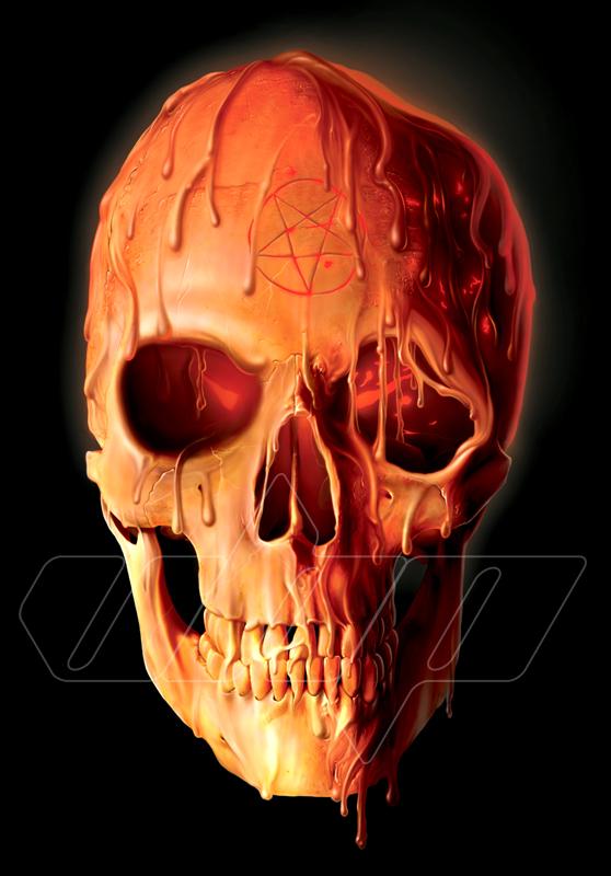 Wax Skull