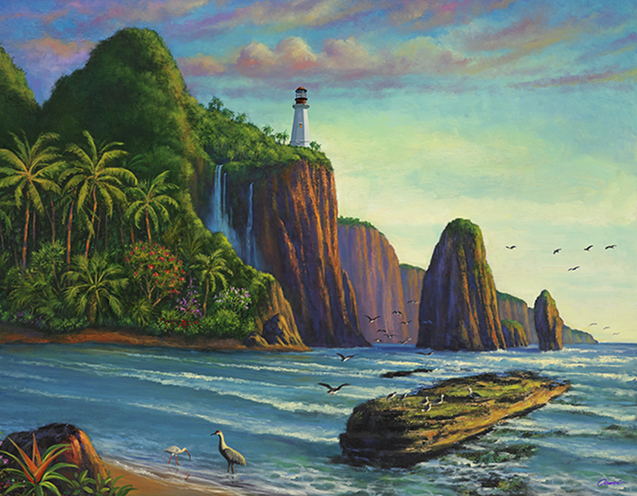 Paradise Bay and Lighthouse