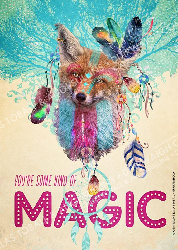 You are some kind of magic 2