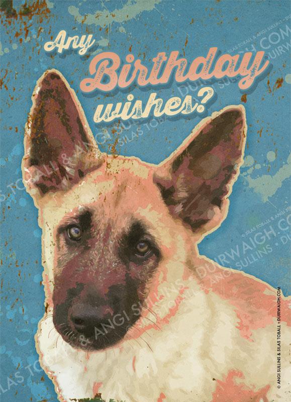 Any Birthday wishes?
