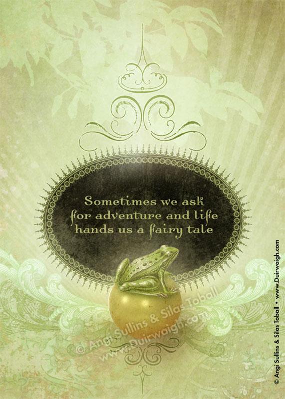 Frog Fairytale Golden Ball