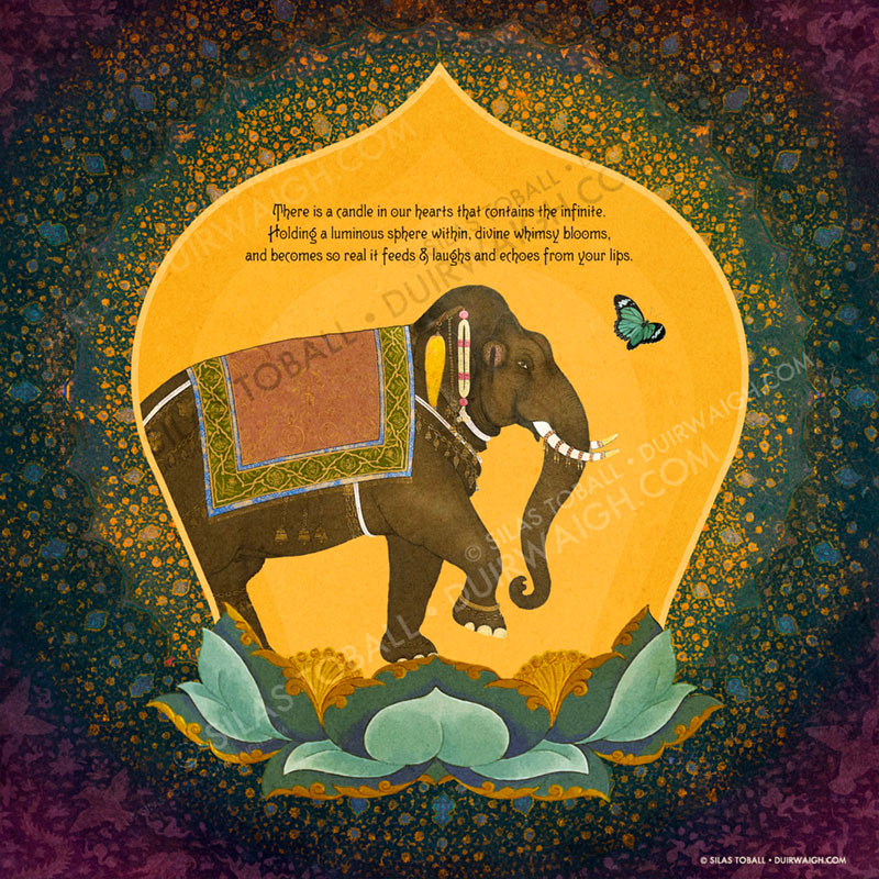 Elephant (Candle in our hearts)