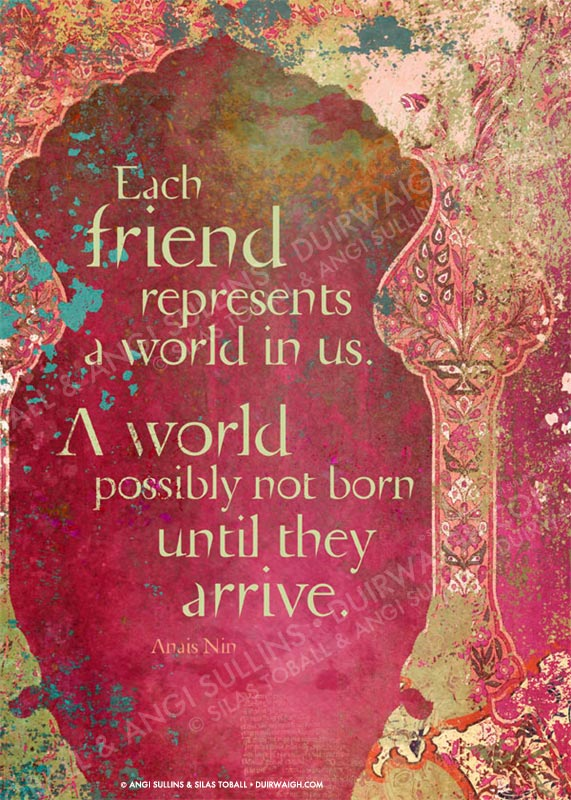 Each friend