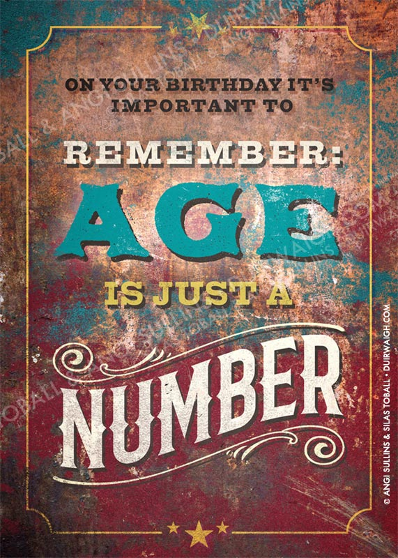 Age is just