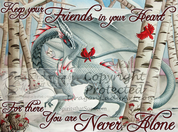 Keep your friends in your heart