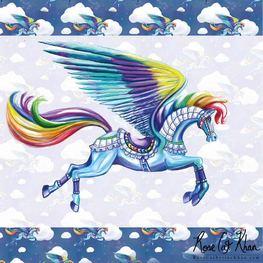 Rainbow Warrior Pattern