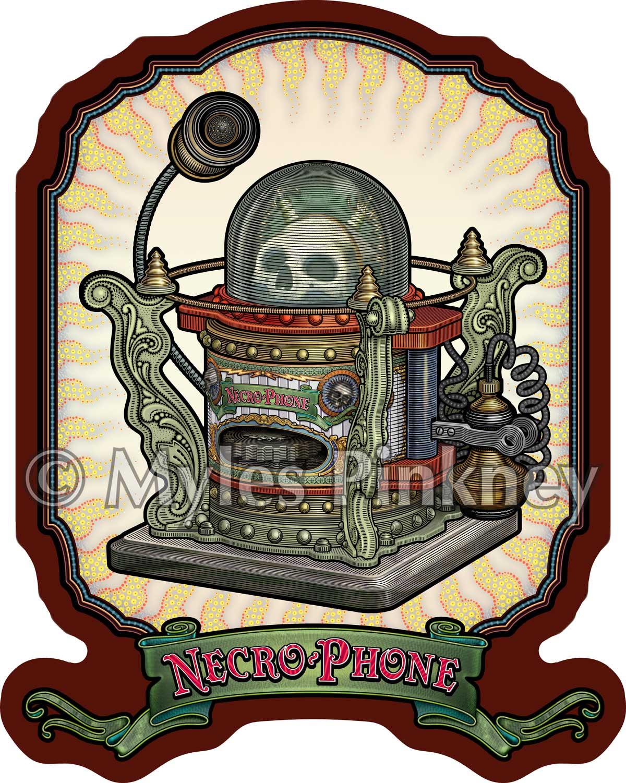 Necro-phone Sticker