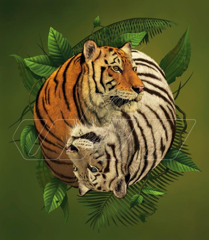 Tiger Yin Yang