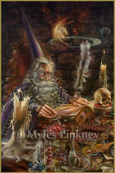 Alchemist Wizard