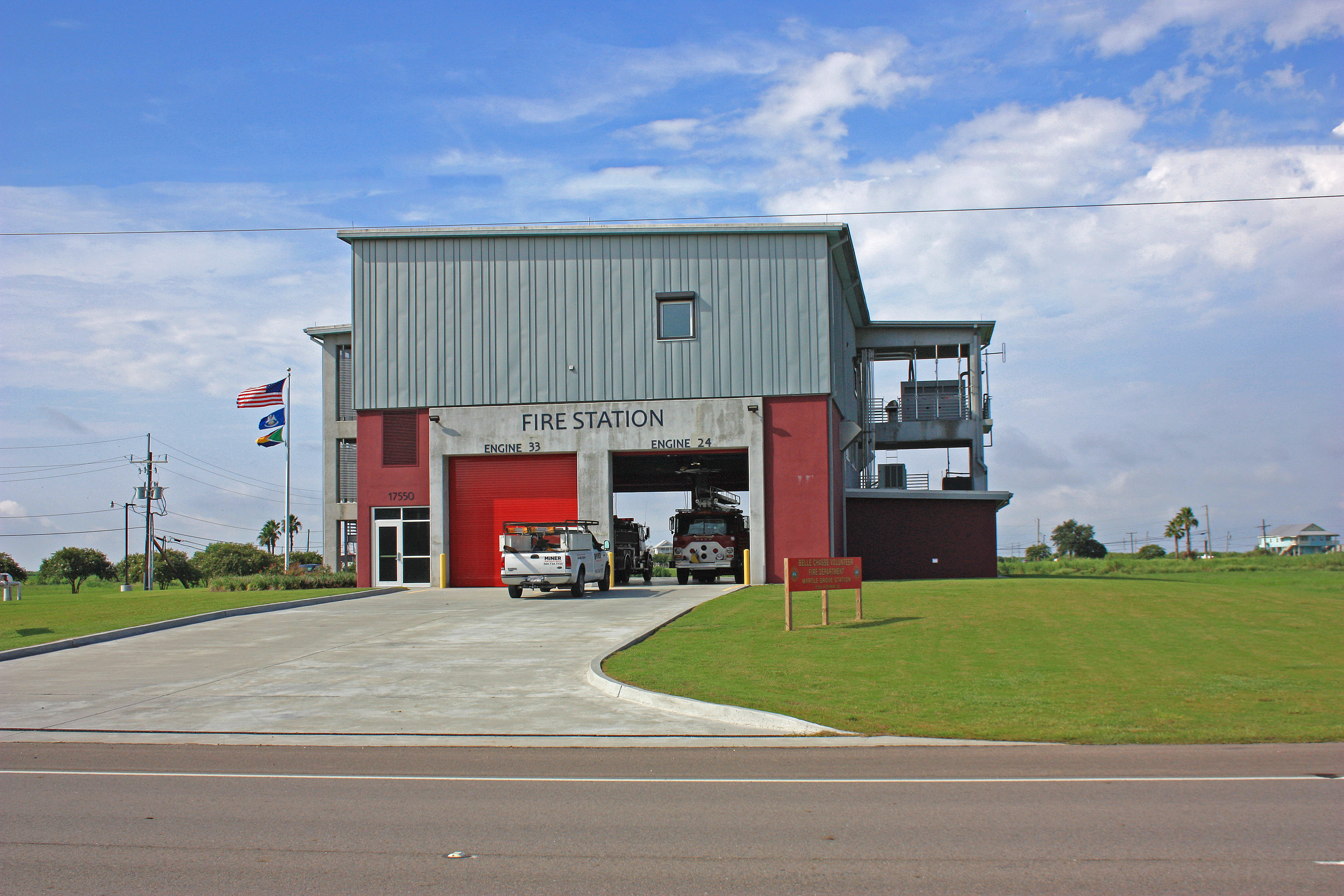 Myrtle Grove and Belle Chasse Fire Stations