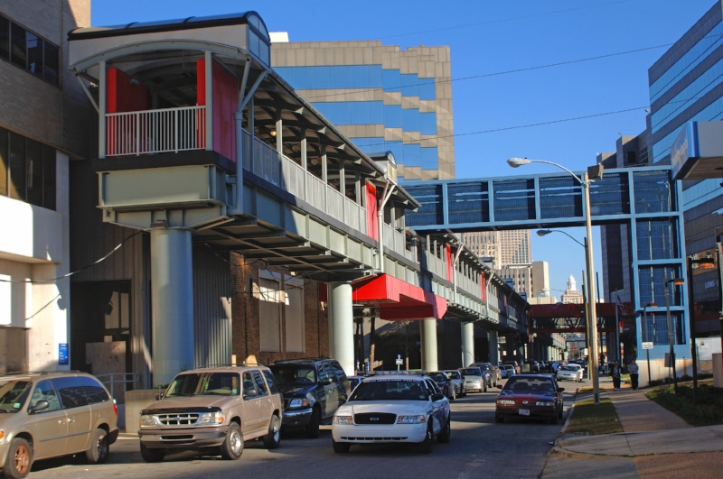 New Orleans Medical Center Elevated Walkway
