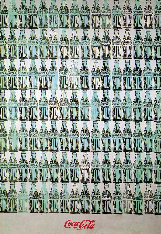Green Coca Cola Bottle - Andy Warhol