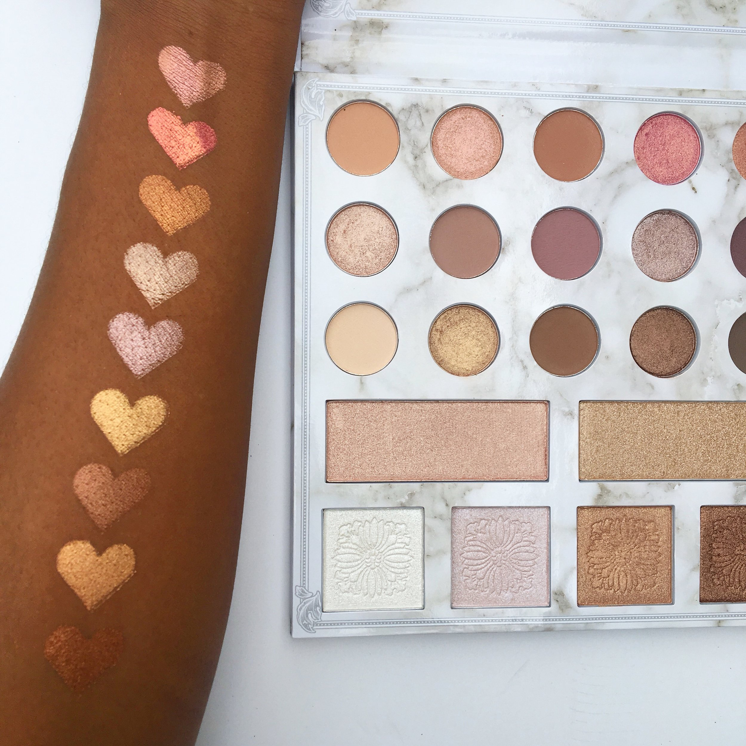 Swatches of the Shimmers