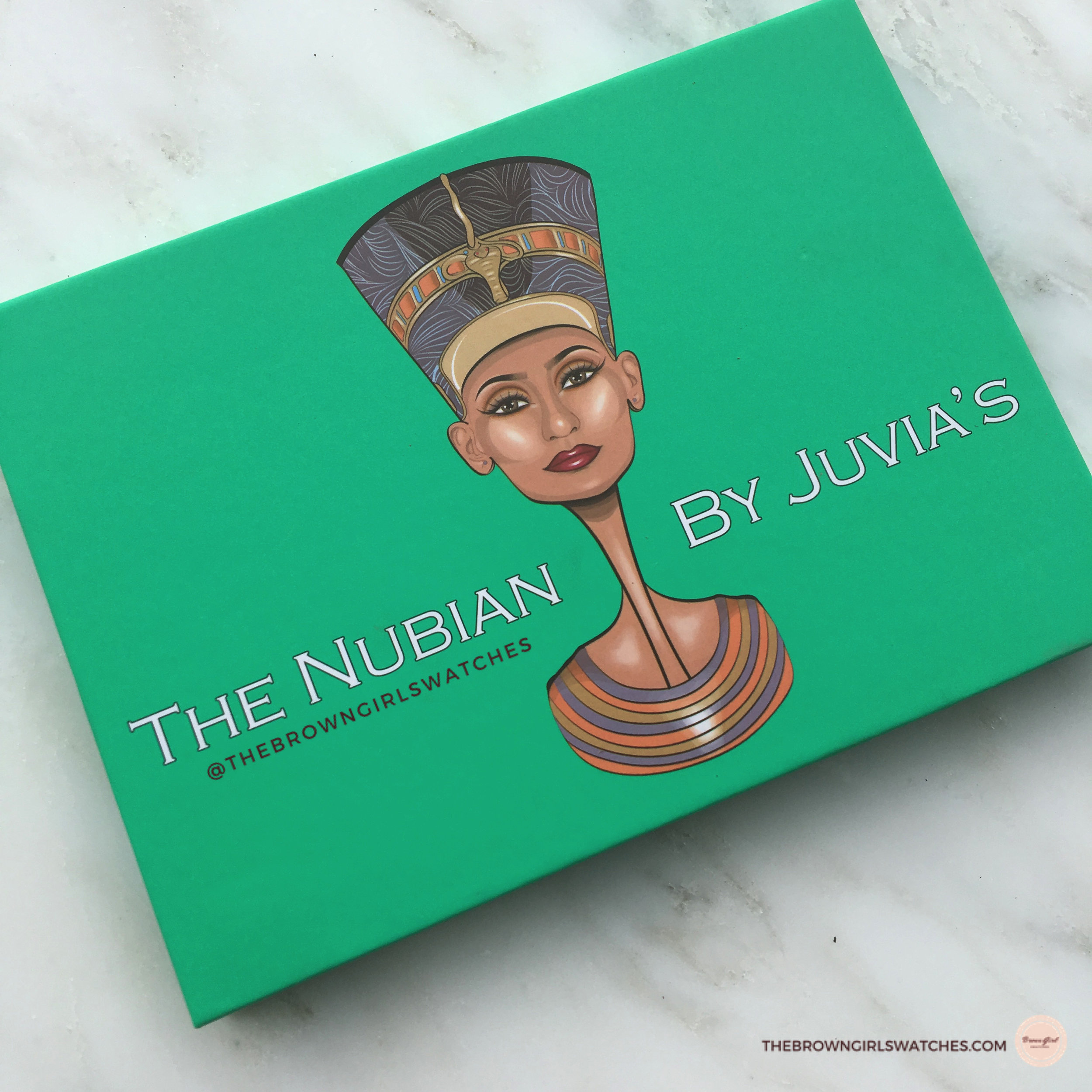 JUVIA'S PLACE NUBIAN PALETTE PACKAGING