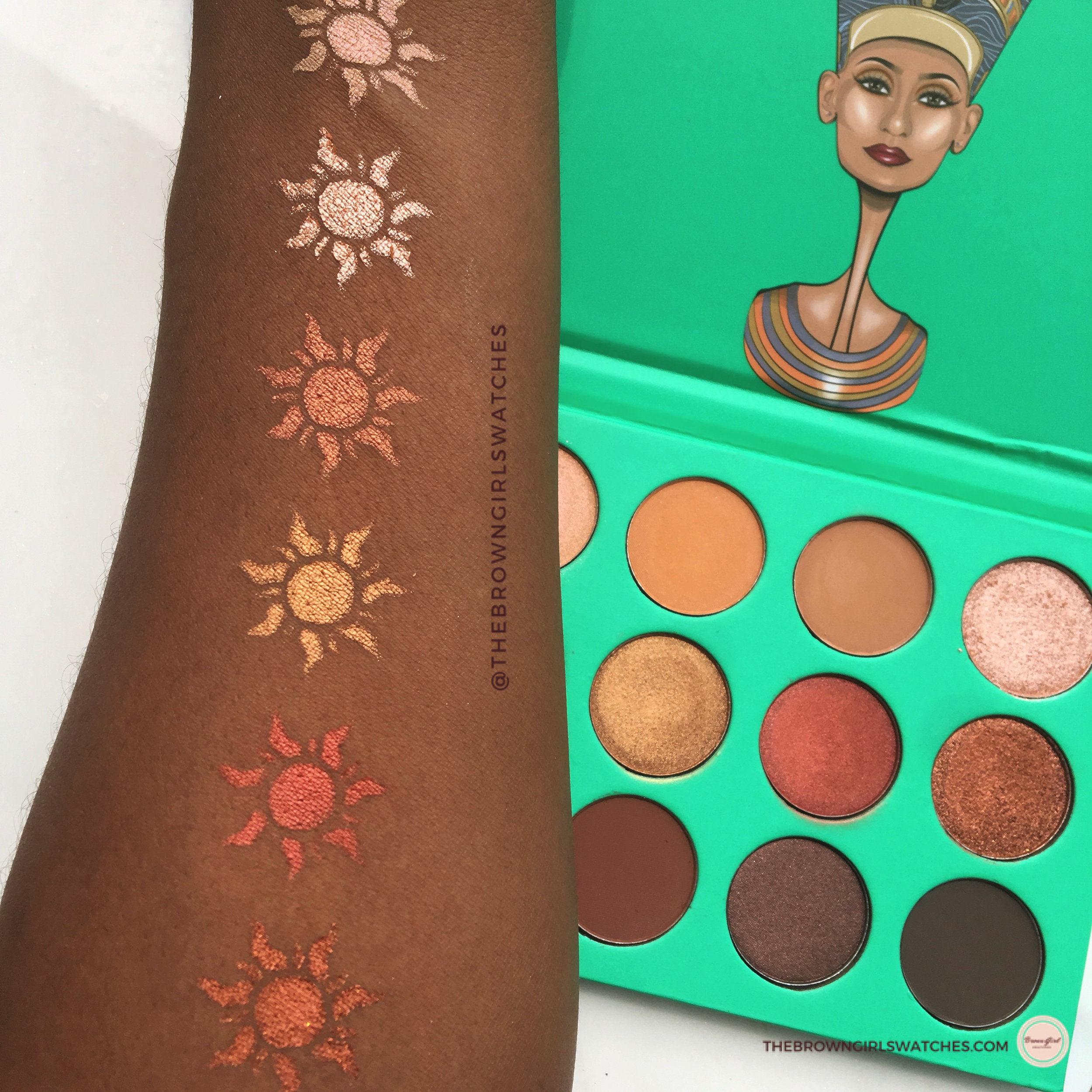 Juvia's Place Nubian Palette Swatches