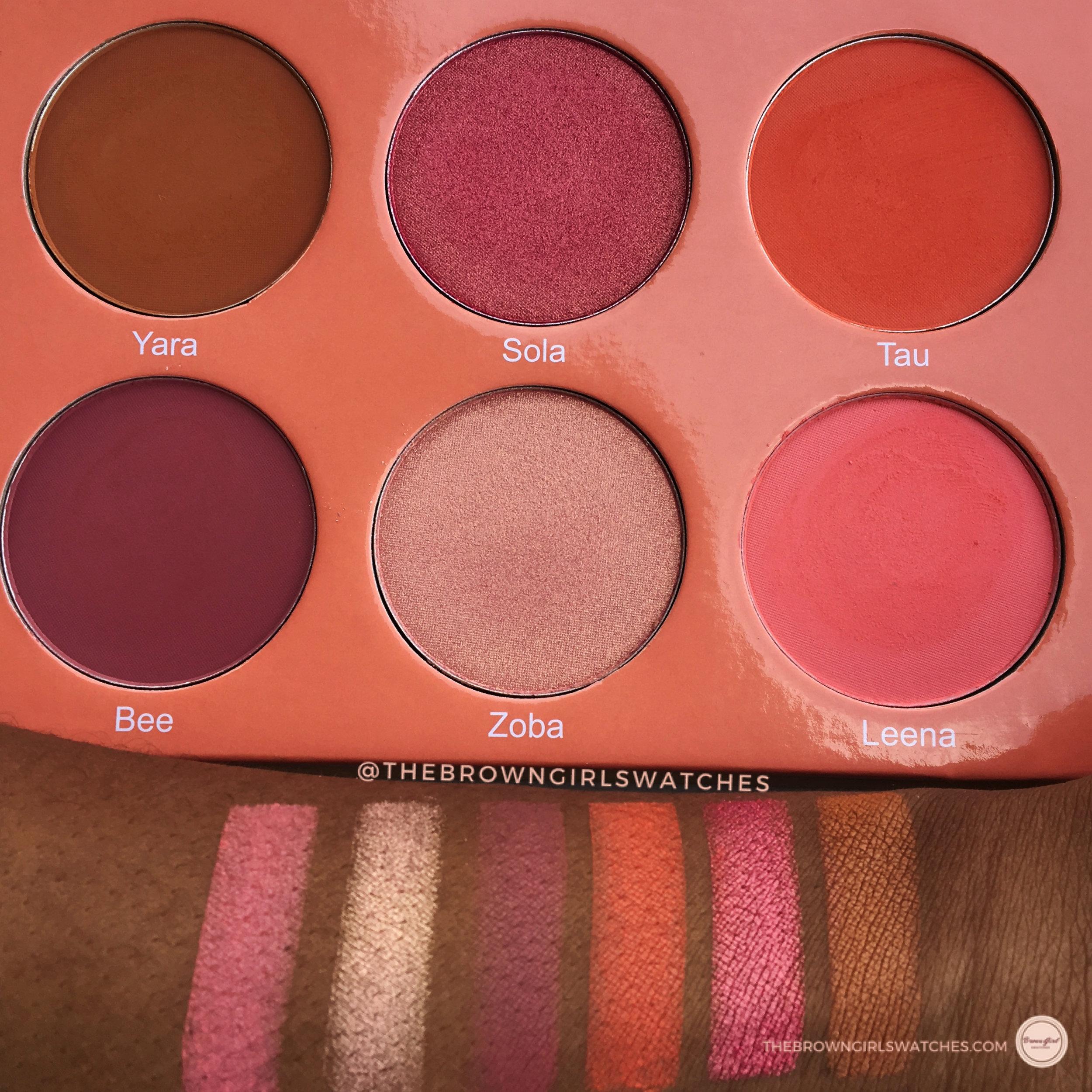 Saharan Blush Volume 1 Palette