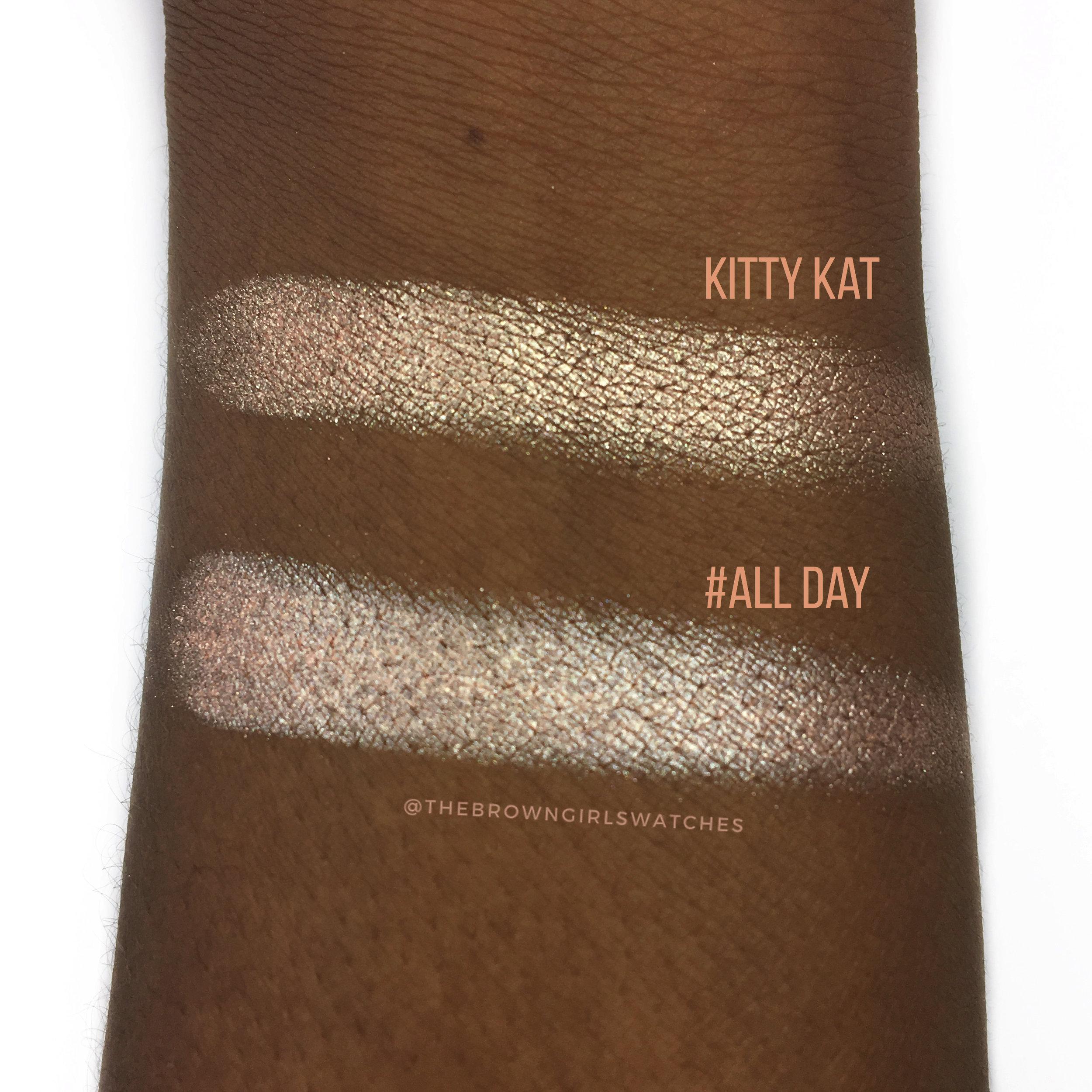 """ABH """"Kitty Kat"""" Versus Bad Habit Beauty """"#ALLDAY"""""""