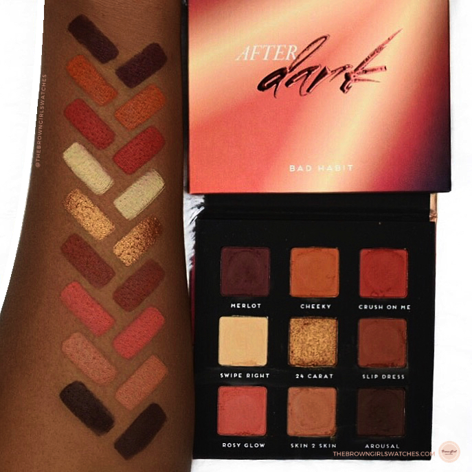 After Dark which Dupes Huda Beauty Warm Brown Obsessions