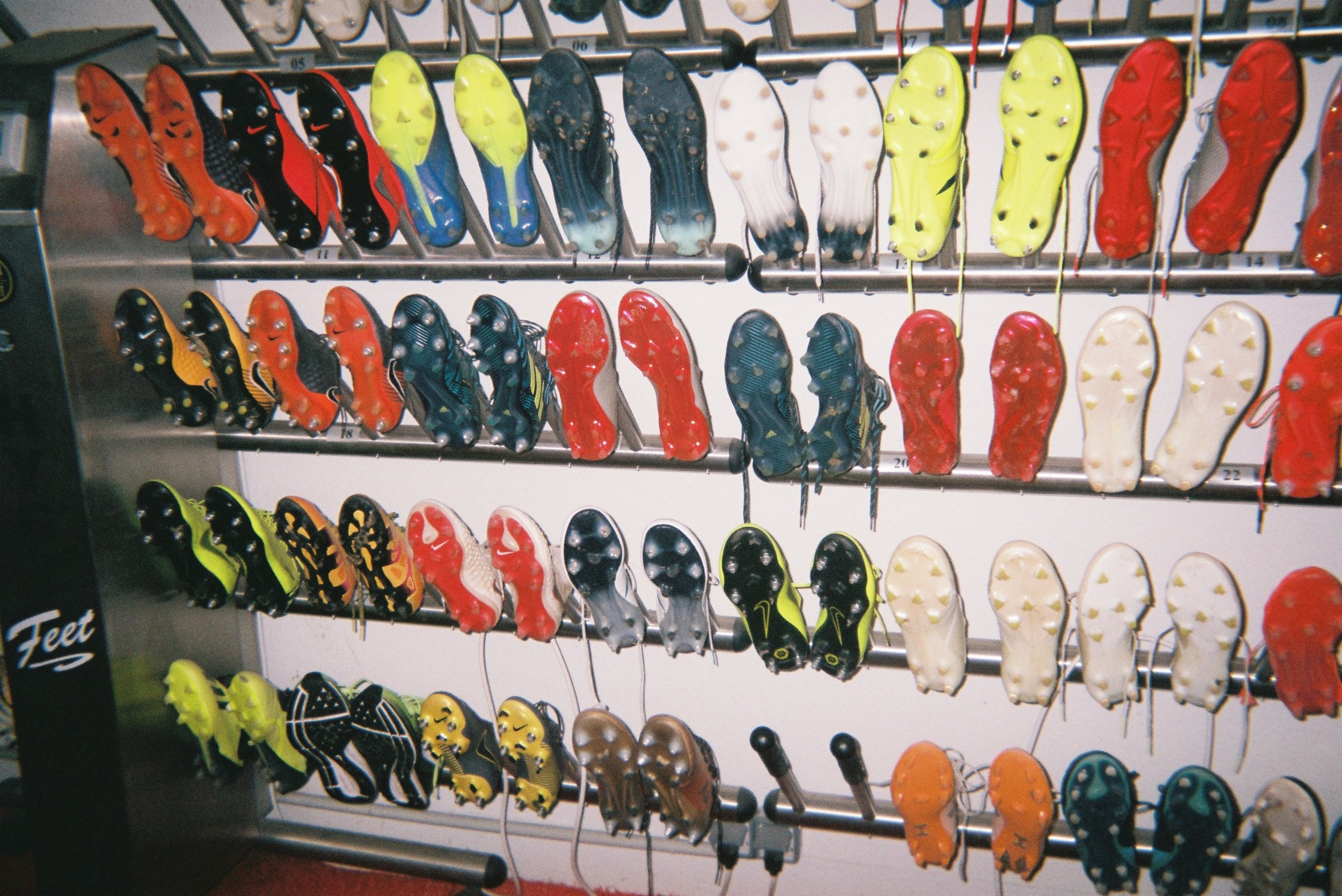 Just a plain old boot rack, where player's boots are left to dry or to try and not smell so bad.