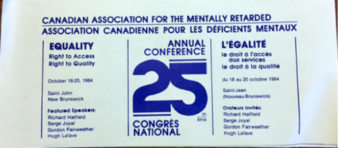 Flyer from 25th Anniversary Conference