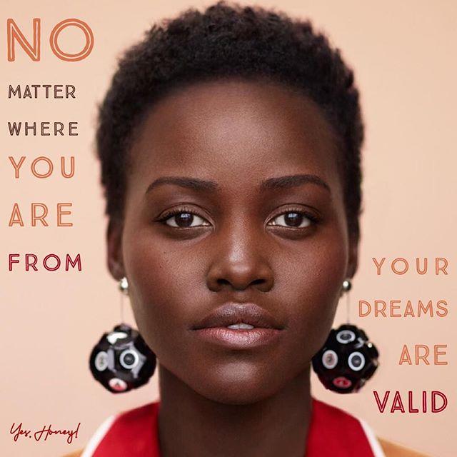 Lupita Nyong'o on ✨dreams ✨ #Truesday