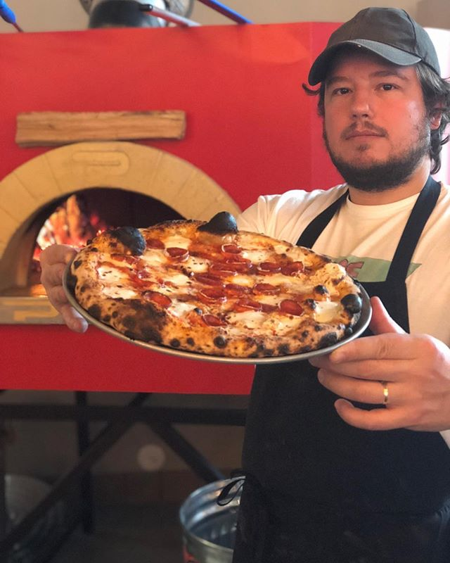 Shoutout to our mentor @millennium_falco who is rocking the International Pizza Expo in Las Vegas this week! Thank you! @forza_forni @kingarthurpizza @kingarthurflour @radtimespizza