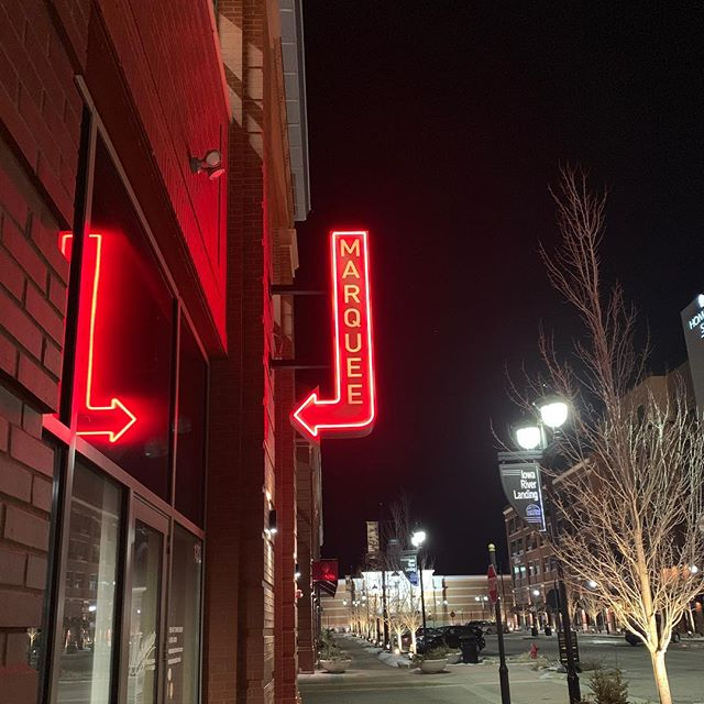 920 E 2nd Ave #123 Coralville, Iowa - free parking in the garage behind us. Let's get this weekend started!! #neon #neonsigns