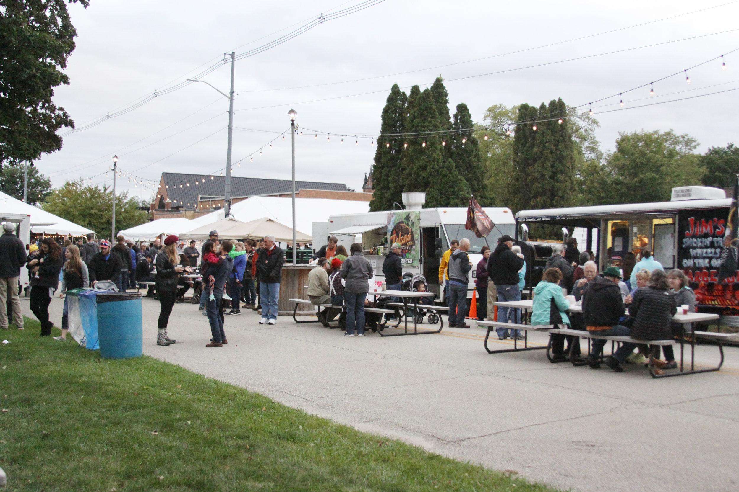 Food Vendors at Waverly Oktoberfest