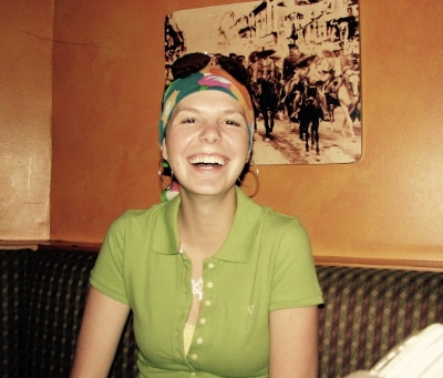 My 22nd birthday, about halfway through my chemotherapy treatments.