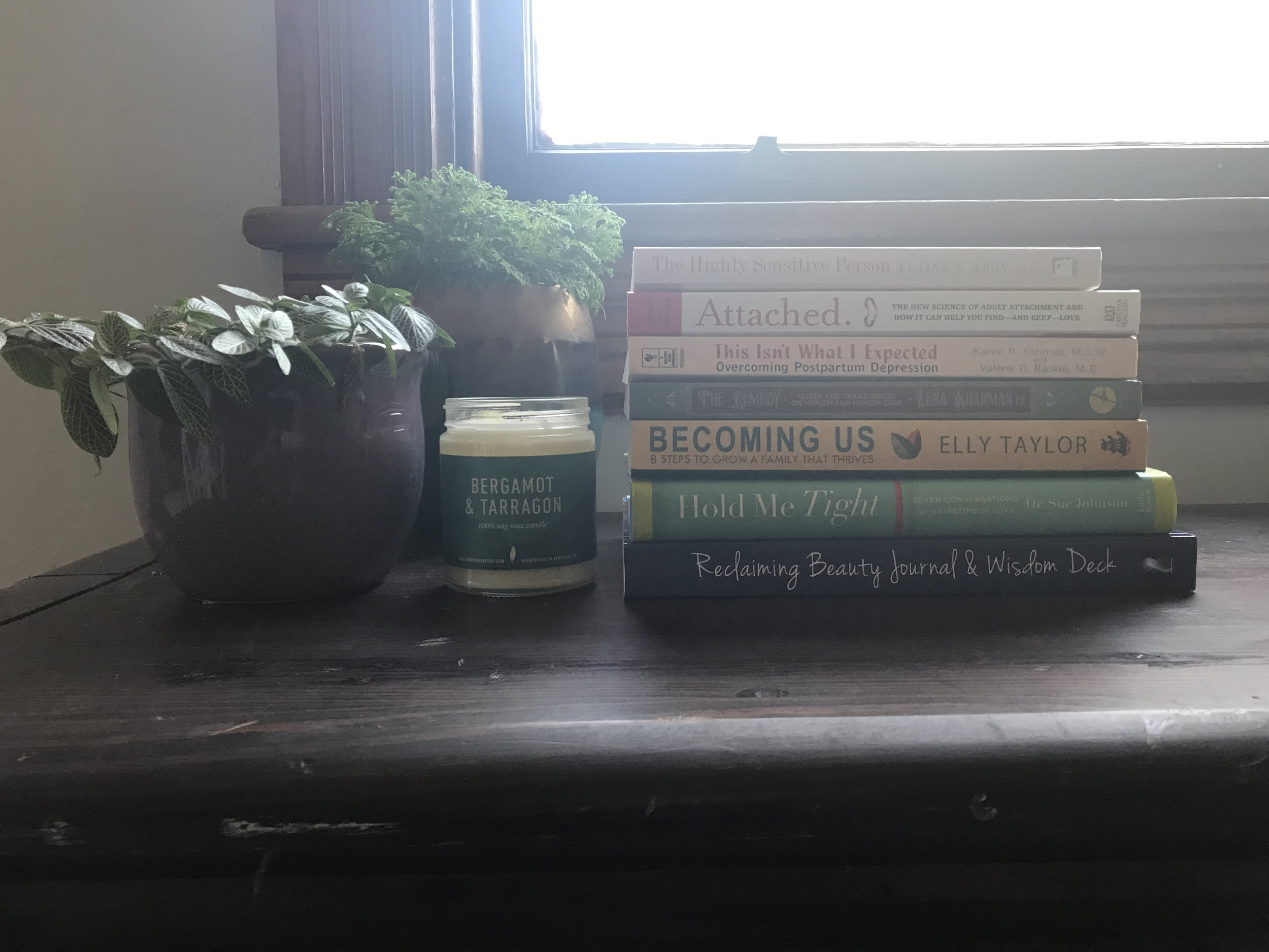 books & resources — heirloom counseling
