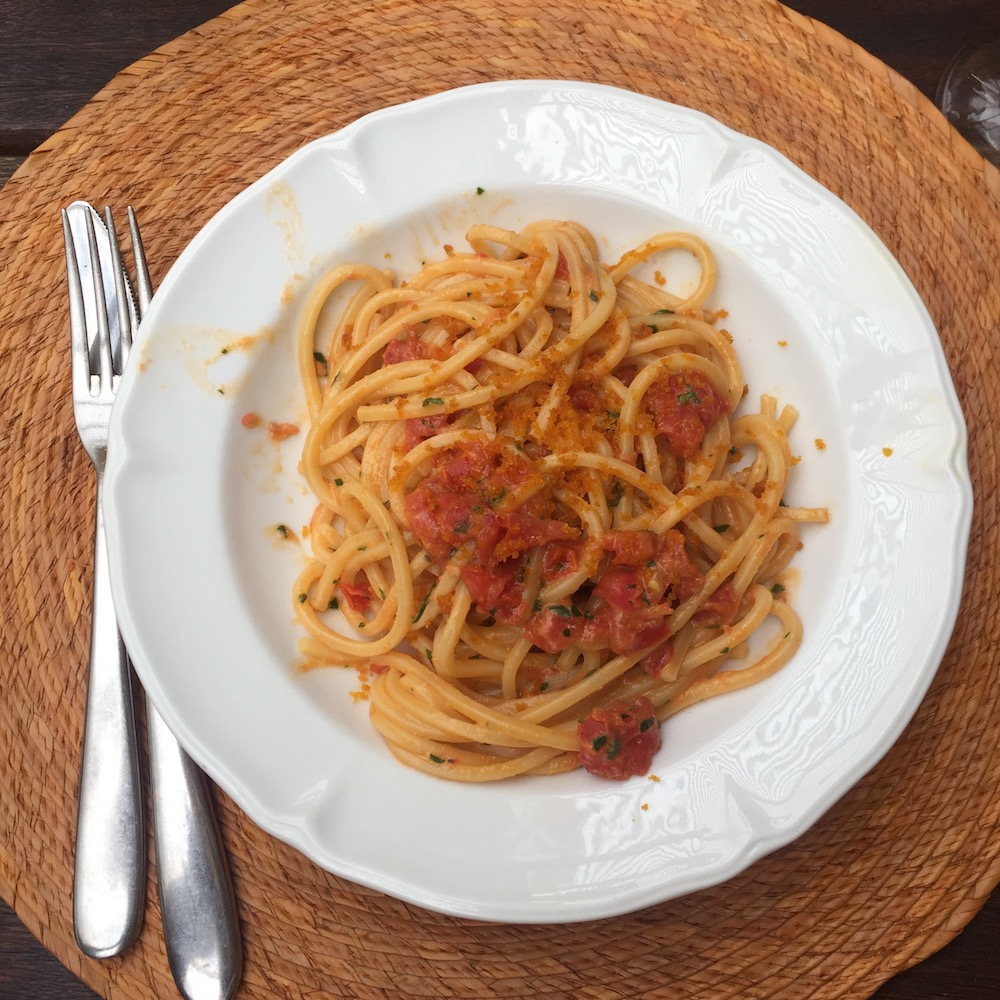 Catia's unforgettable Bottarga Spaghetti