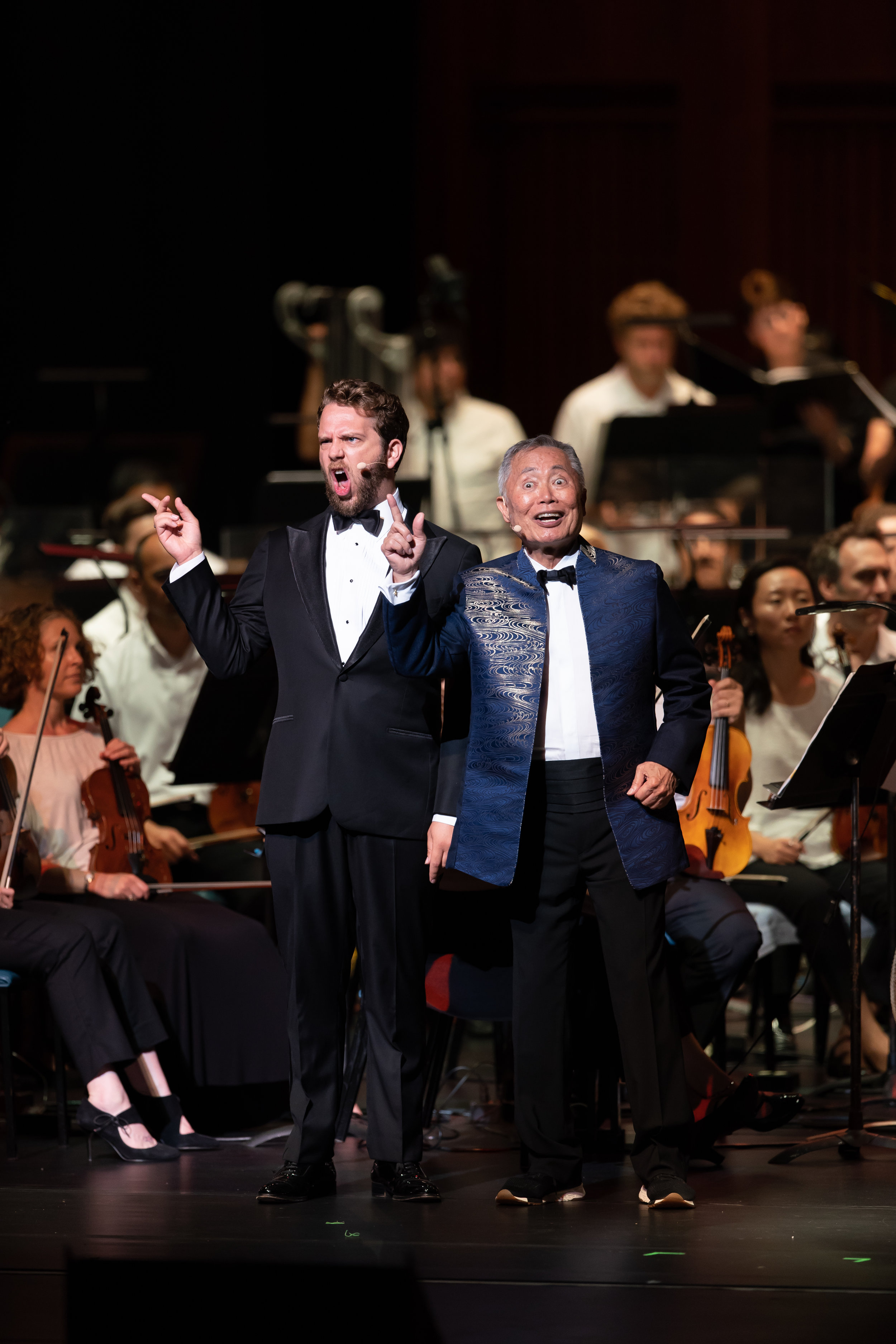 Bernstein at 100 with George Takei