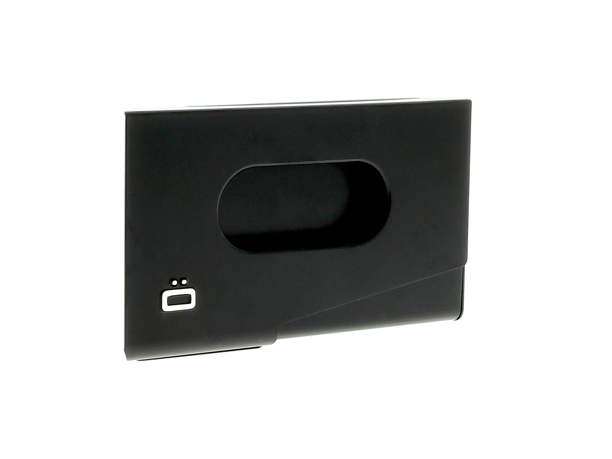 One Touch Business Card Holder - Black