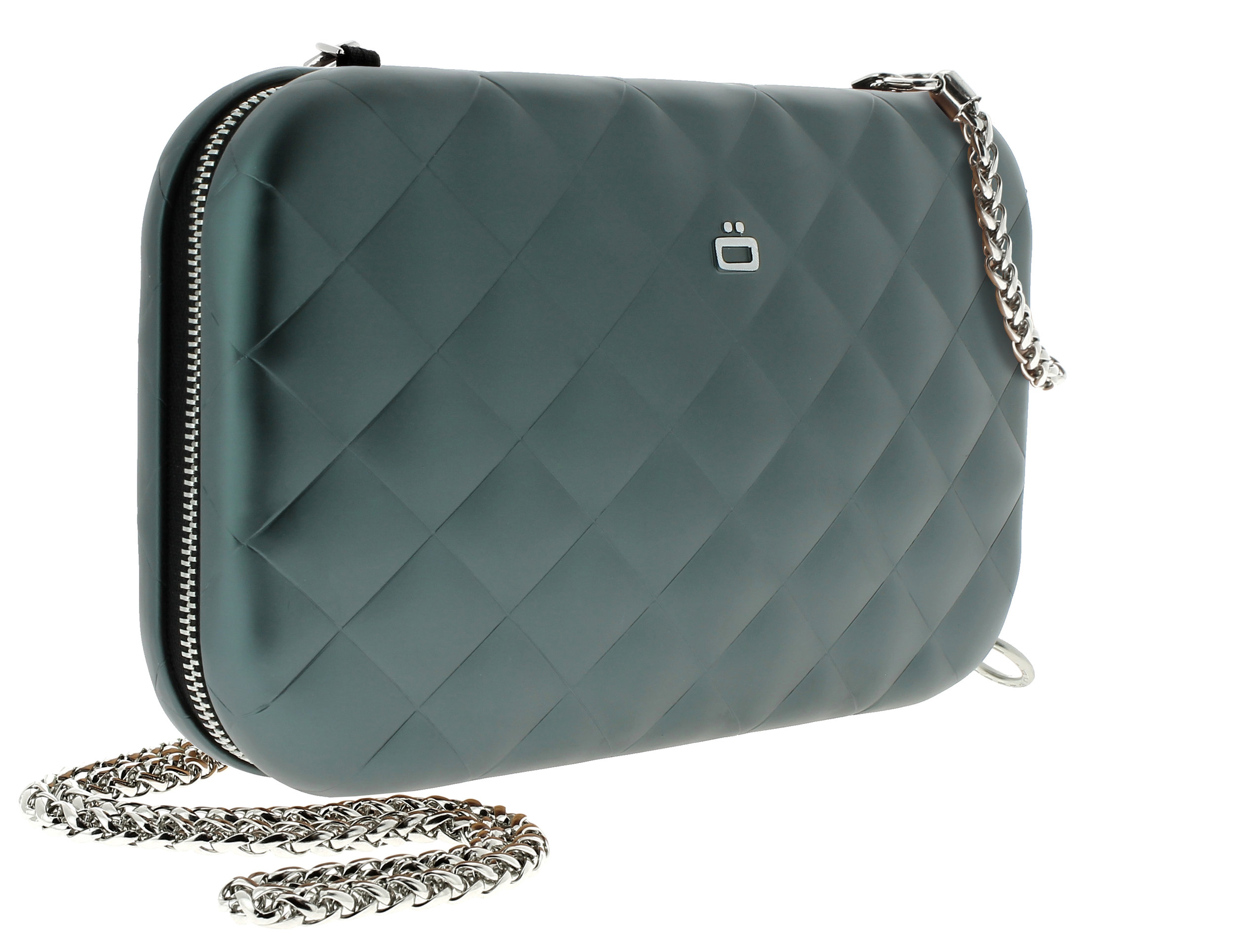 Quilted Lady Bag - Platinum