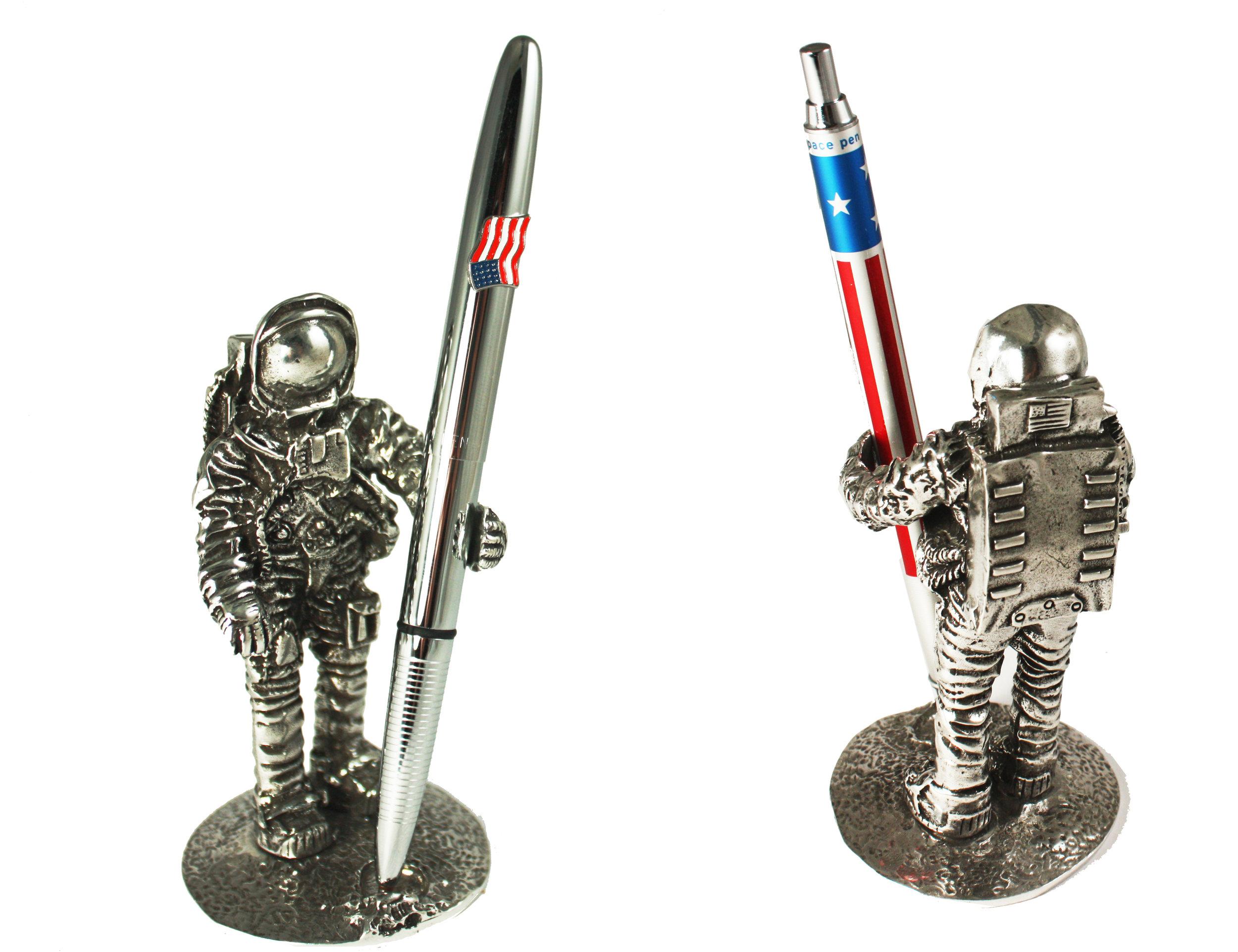 Astronaut Pen Holder Desk Accent.