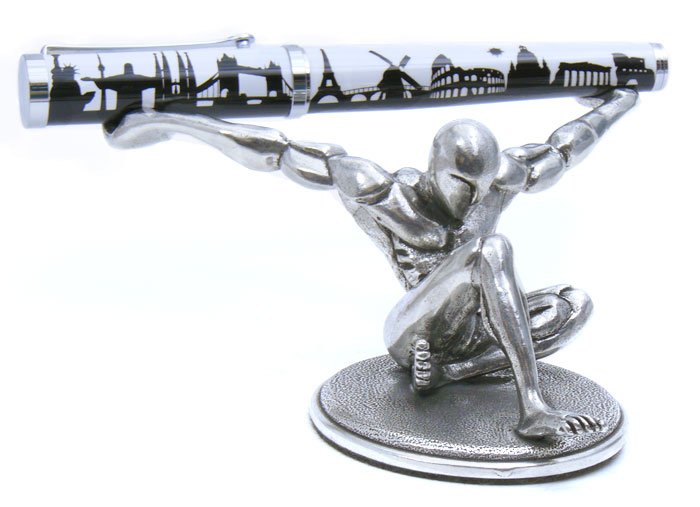 PH36 Atlas - Strength and Poise on your Desk.Pewter. 5