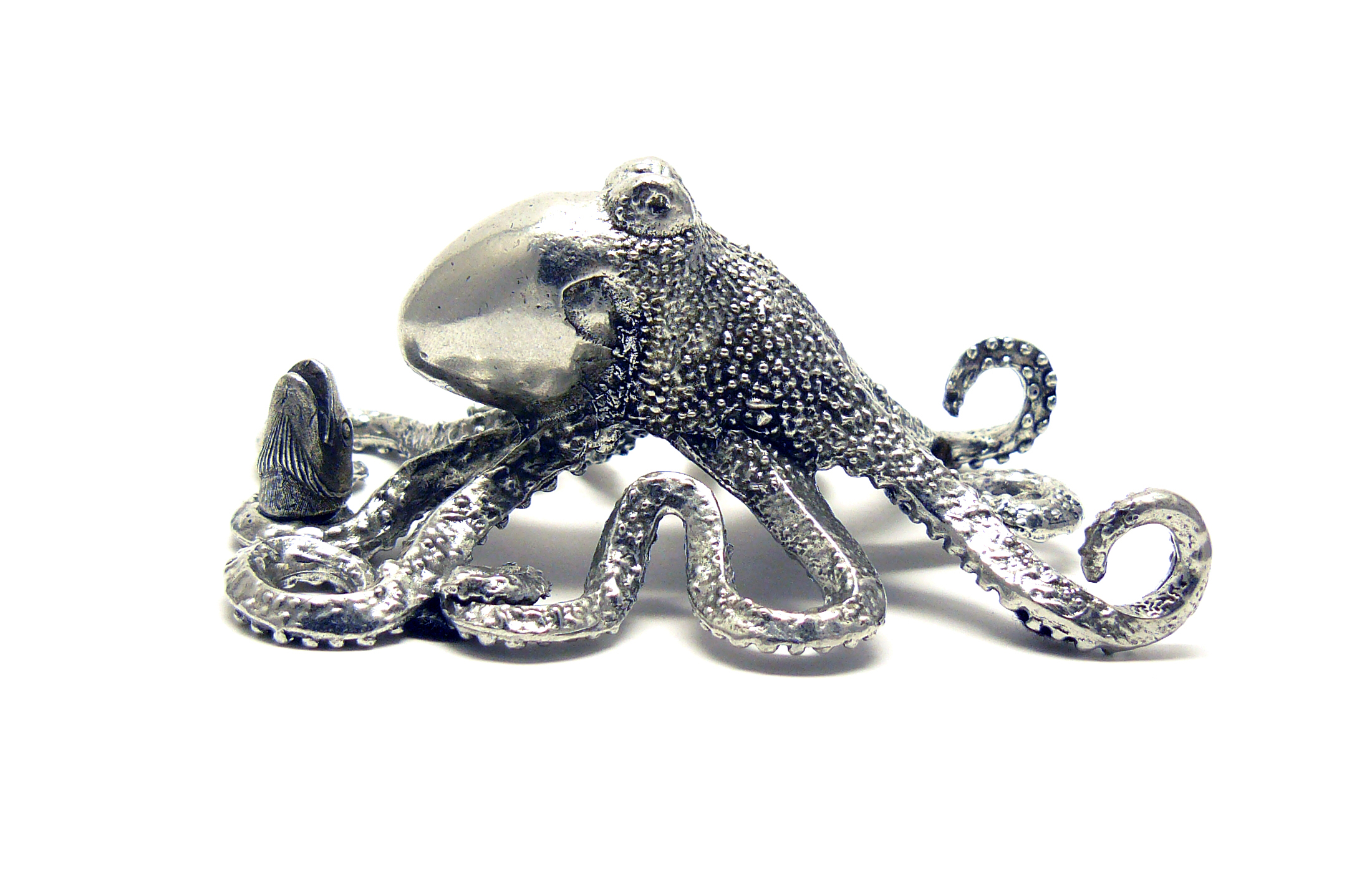 "PH53 Octopus - Pewter - H 3.0"" x W 3.0"" x L 5.0""MSRP $110"