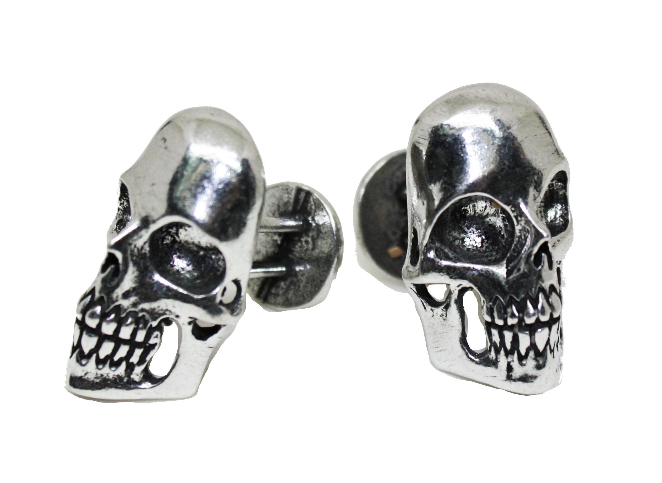 Business Skull Cufflinks - Pewter. MSRP $50