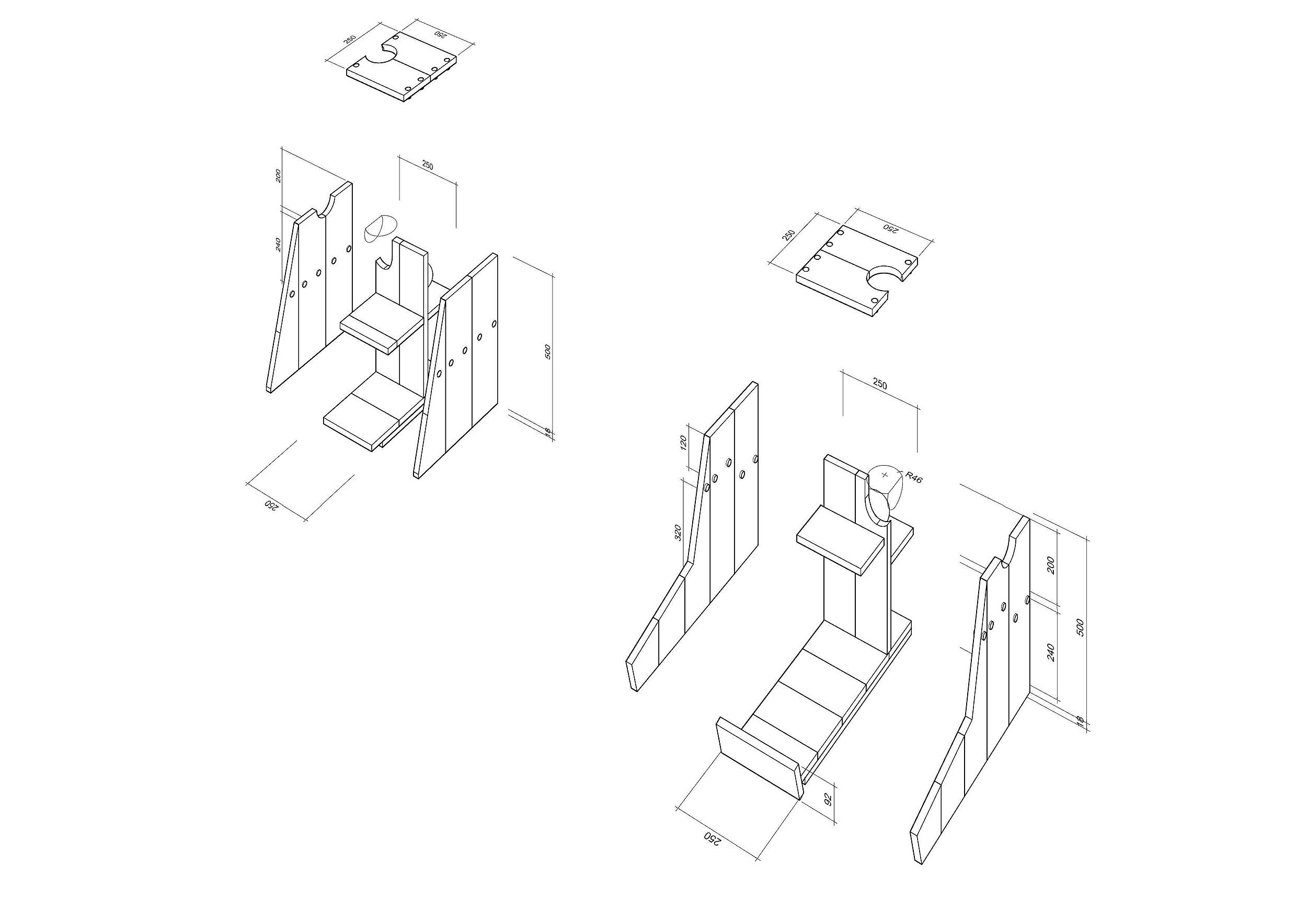 Isometric anatomy