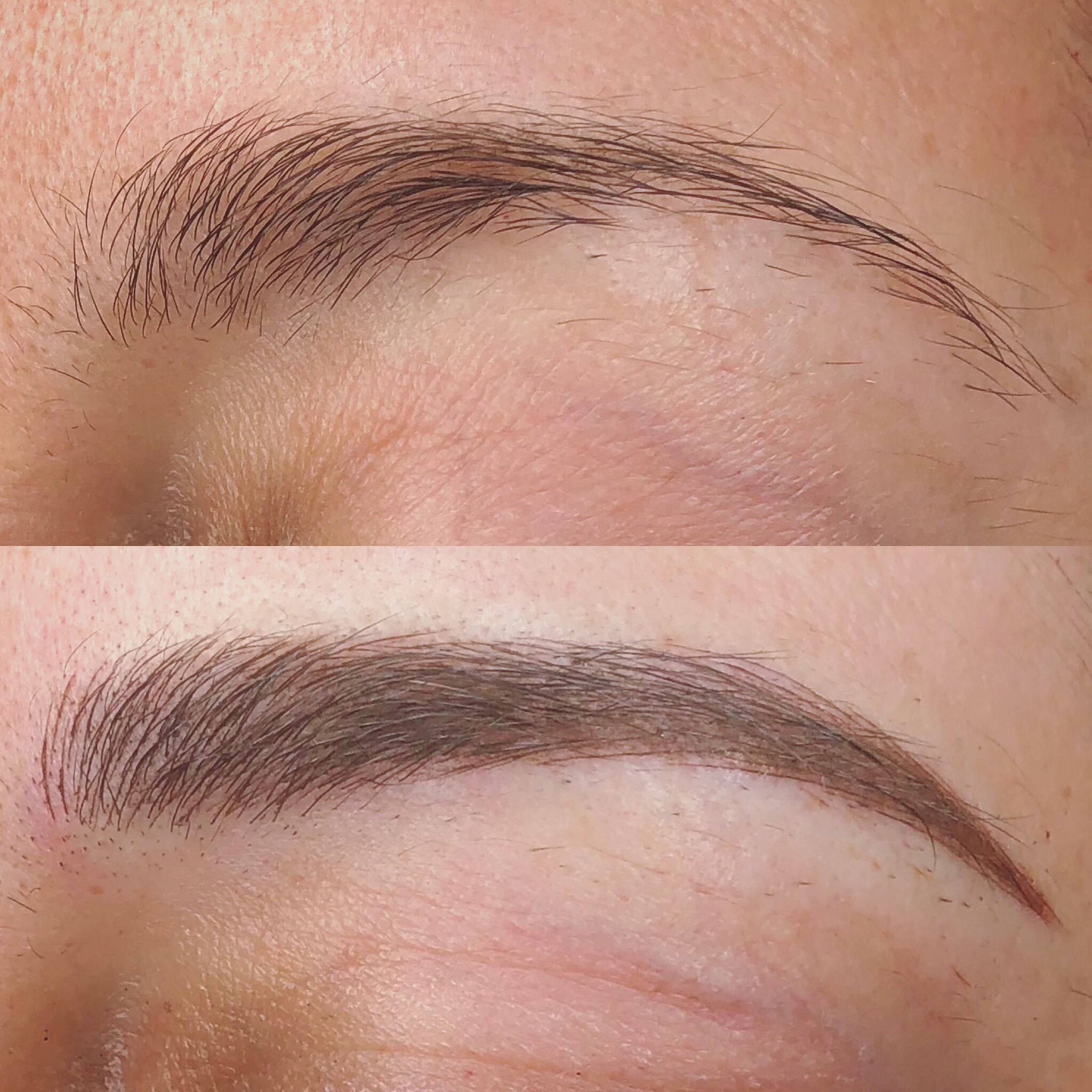 - Shading can be added to all Microblading procedures and we are highly trained in both manual and machine shading methods. Shading is recommended for anyone who has very little brow hair, an existing tattoo to be covered up or anyone who wants a more bolder look than microblading alone will give. Leave it to us to decide whether manual or machine shade will be the best for you.