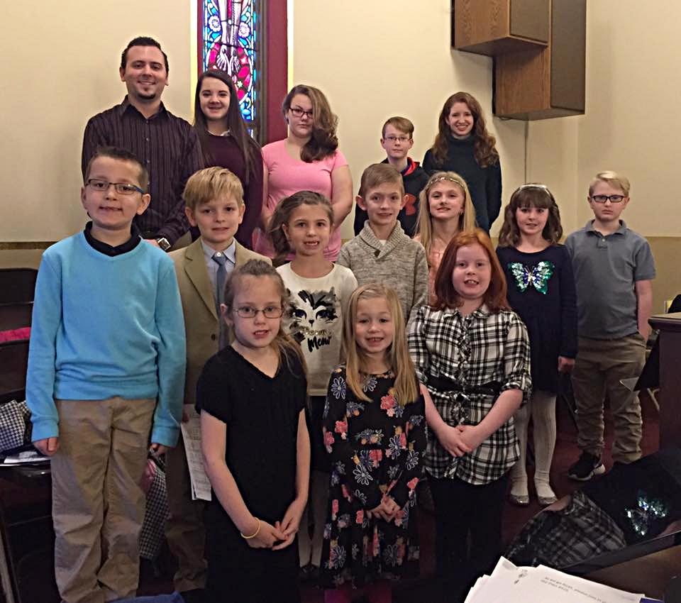 Youth Choir - Open to students in Kindergarten through 7th grade Rehearsals are held Sundays after the 10AM Mass Sing at monthly Youth Family MassesSing a special song at various MassesChristmas Eve Prelude ProgramEaster Sunday Prelude Program