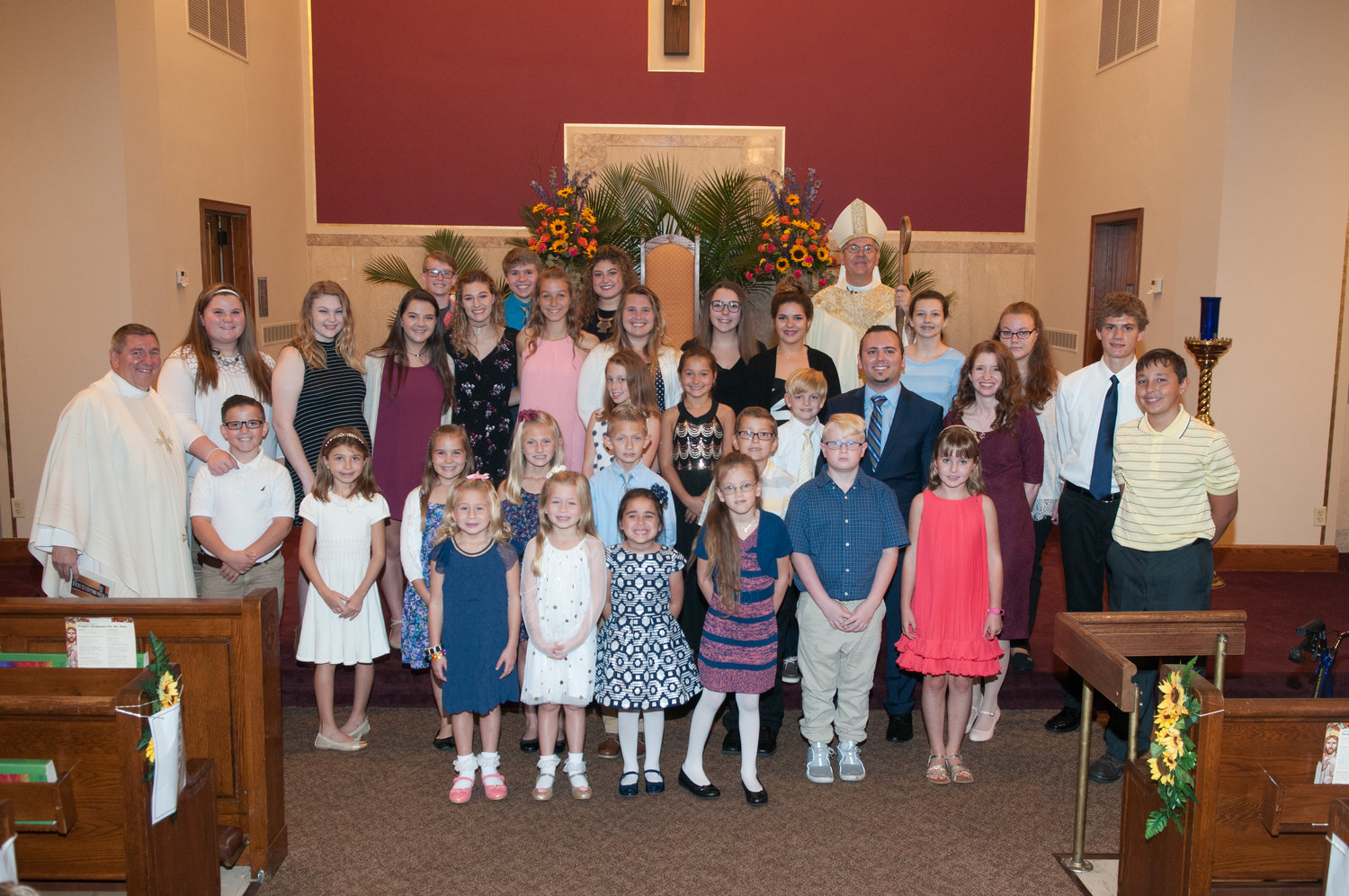 Youth and Teen Choirs with Bishop.jpg