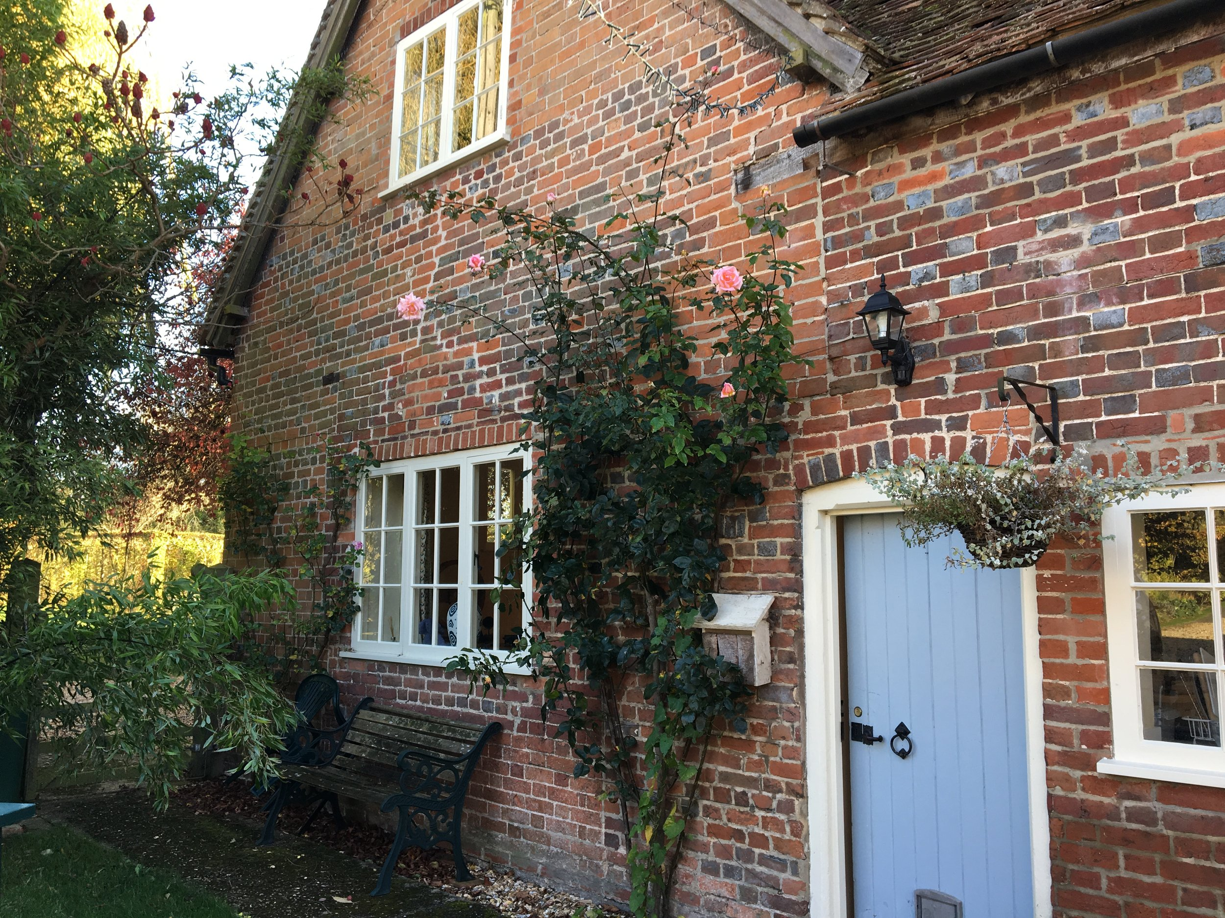 """The cottage was actually used as a filming location for Kirsty Allsops """"handmade christmas"""""""