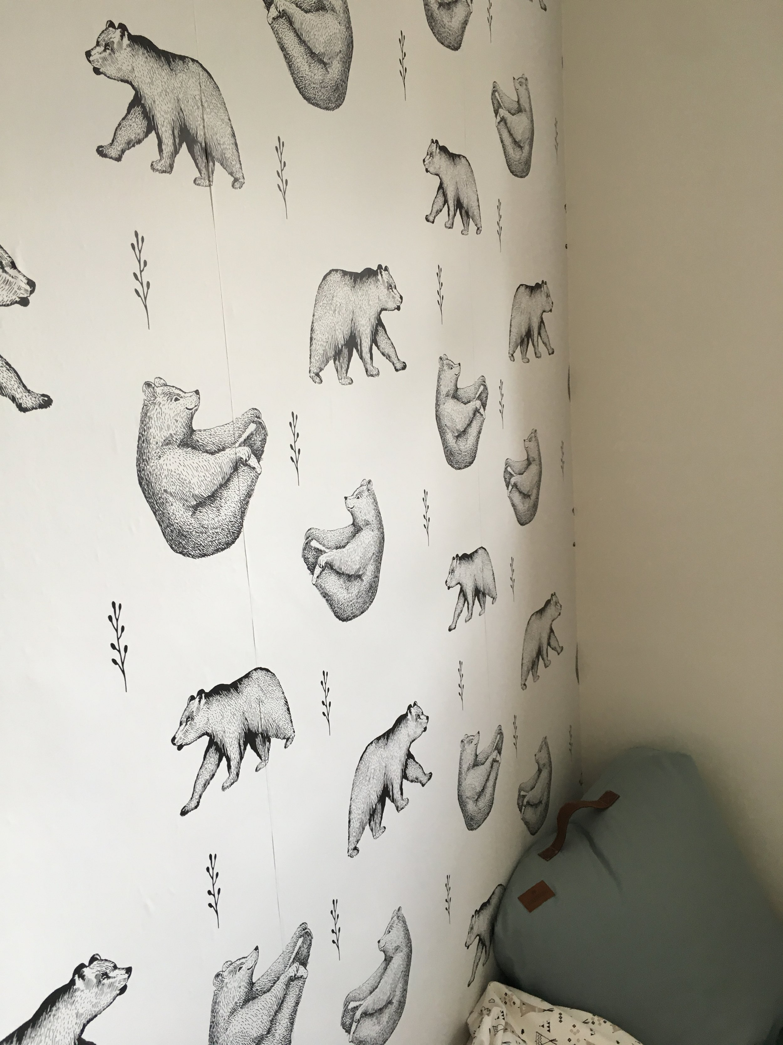 Self-adhesive wallpaper that even I can put up?!? Tick. This incredible wallpaper from xxxxxx is a must have for all new parents! Not only are the designs just fabulous but it isn't also self adhesive, so you literally peel off the backing paper and stick it into your wall!!