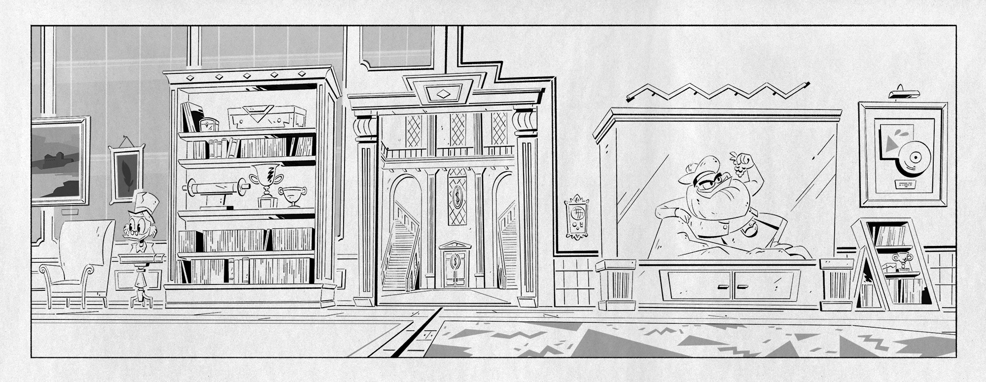 Layout for episode 8.